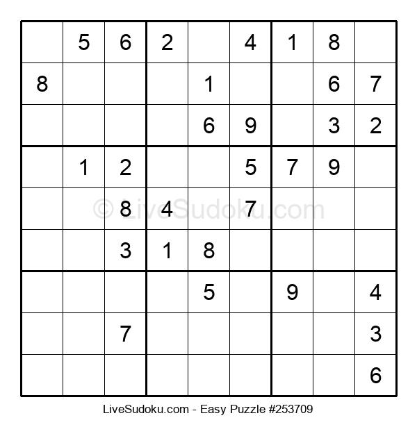 Beginners Puzzle #253709