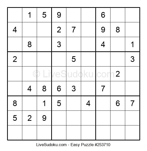 Beginners Puzzle #253710