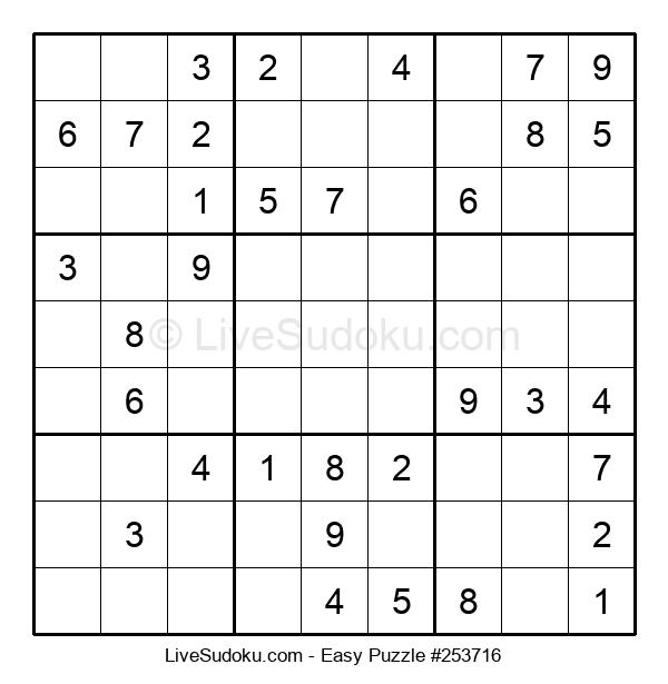 Beginners Puzzle #253716