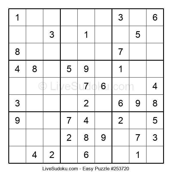 Beginners Puzzle #253720