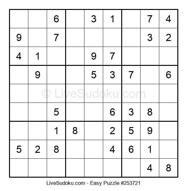 Beginners Puzzle #253721