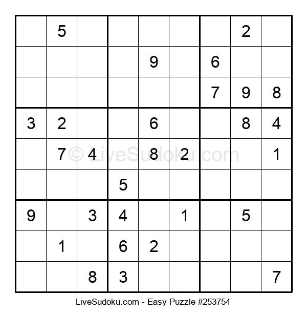Beginners Puzzle #253754