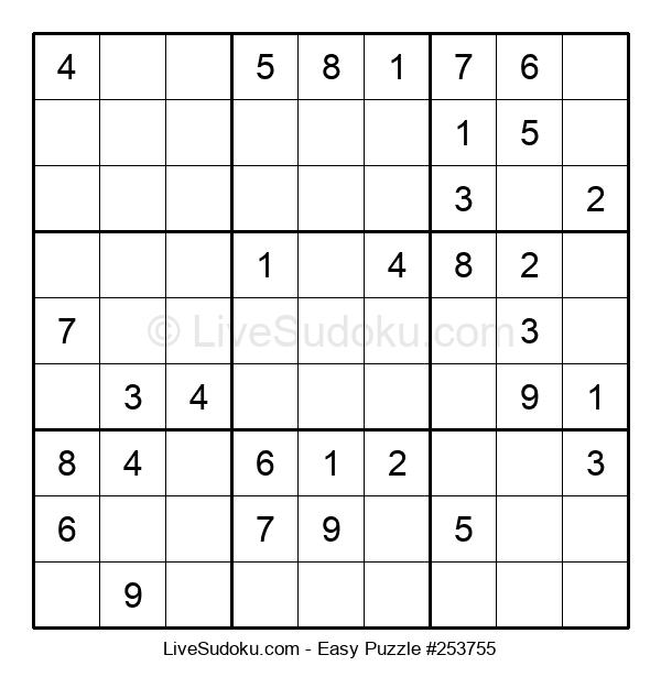 Beginners Puzzle #253755