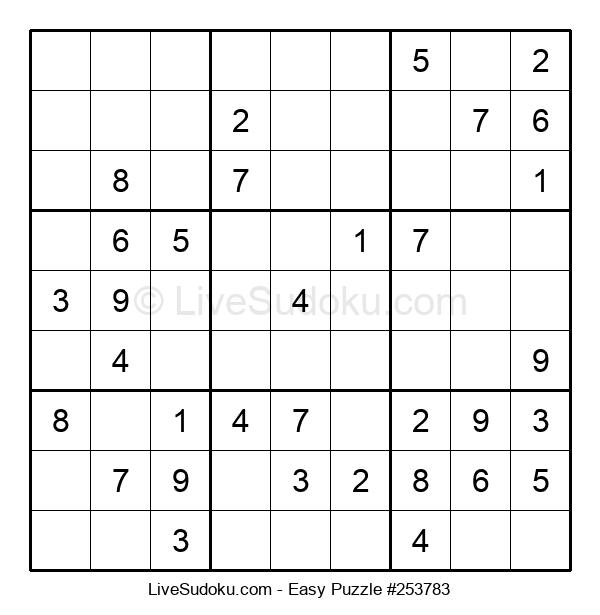 Beginners Puzzle #253783
