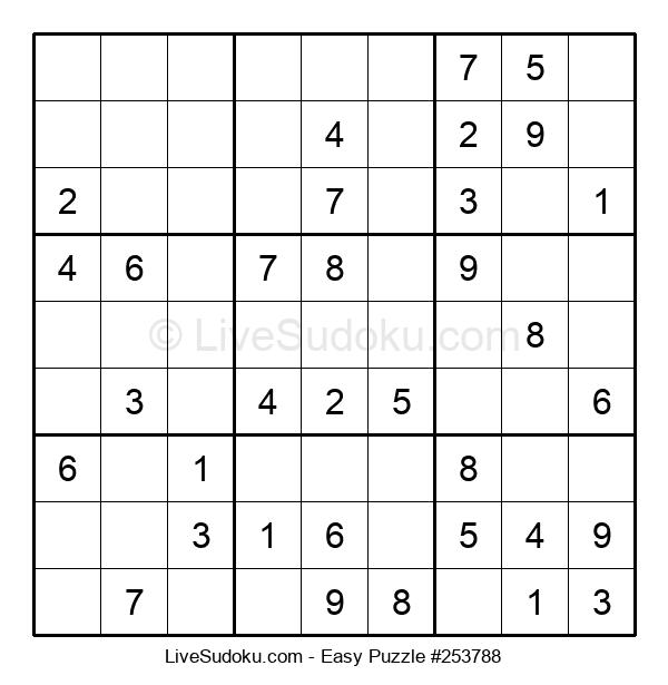Beginners Puzzle #253788