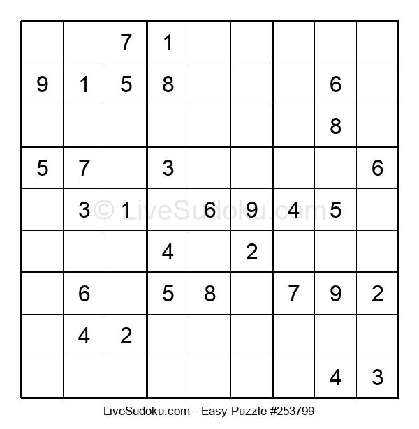Beginners Puzzle #253799