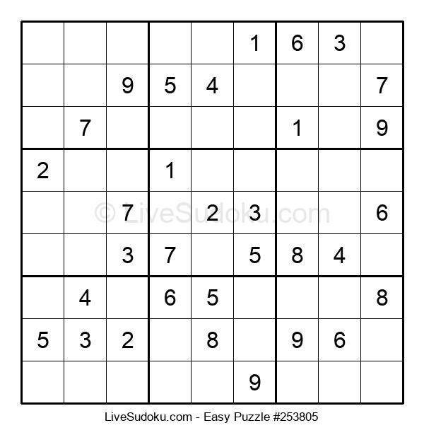 Beginners Puzzle #253805