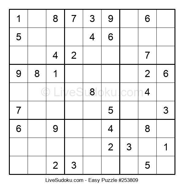 Beginners Puzzle #253809
