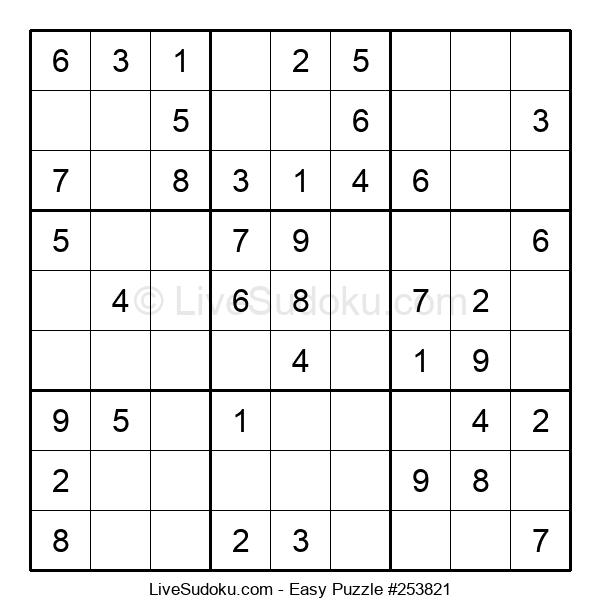 Beginners Puzzle #253821