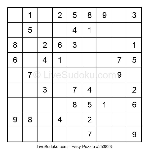 Beginners Puzzle #253823