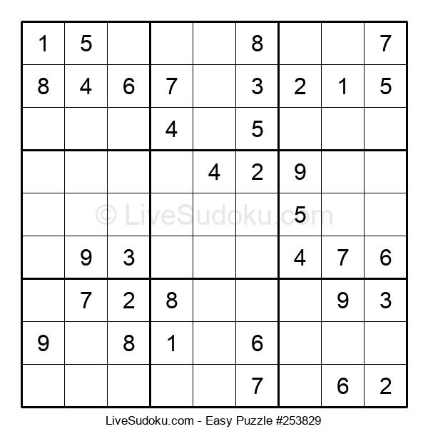 Beginners Puzzle #253829