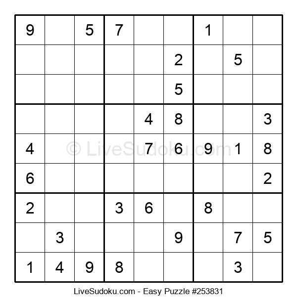 Beginners Puzzle #253831