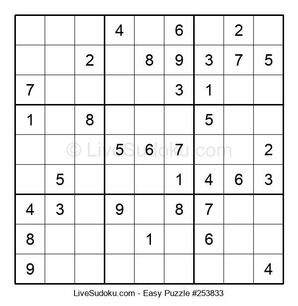 Beginners Puzzle #253833
