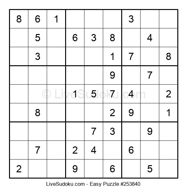 Beginners Puzzle #253840
