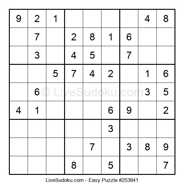Beginners Puzzle #253841