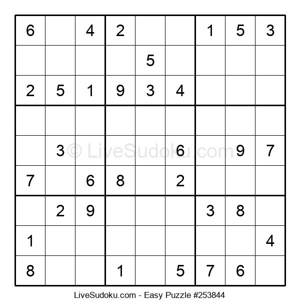 Beginners Puzzle #253844
