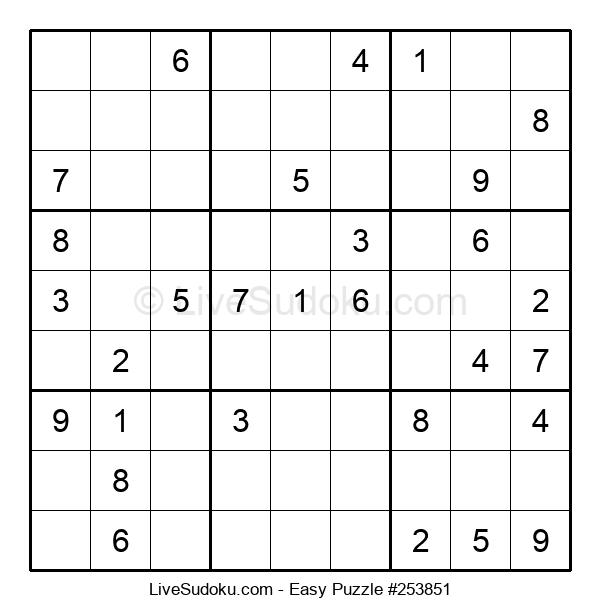Beginners Puzzle #253851