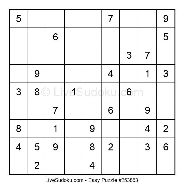 Beginners Puzzle #253863
