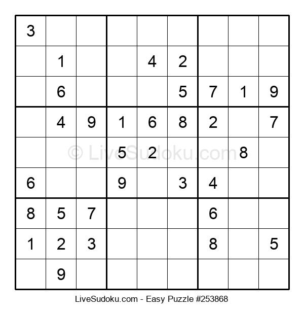 Beginners Puzzle #253868
