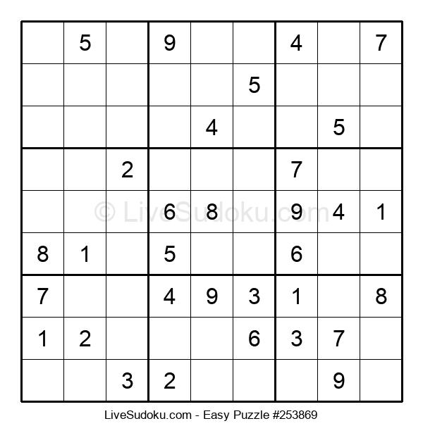 Beginners Puzzle #253869