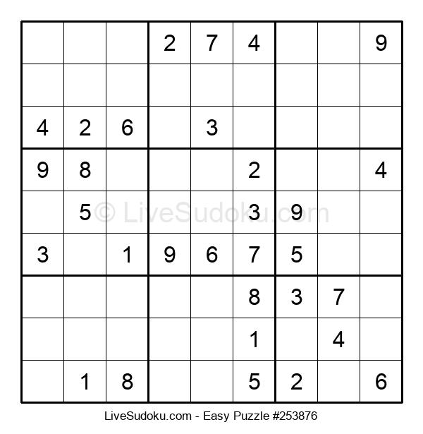 Beginners Puzzle #253876