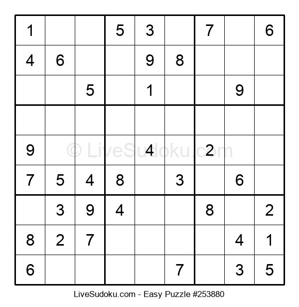 Beginners Puzzle #253880