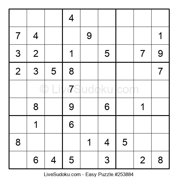 Beginners Puzzle #253884