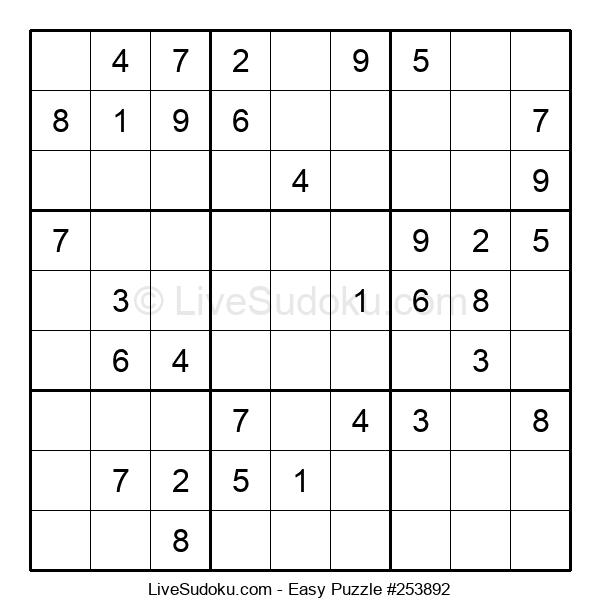 Beginners Puzzle #253892