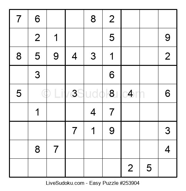 Beginners Puzzle #253904