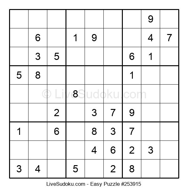 Beginners Puzzle #253915