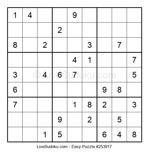 Beginners Puzzle #253917