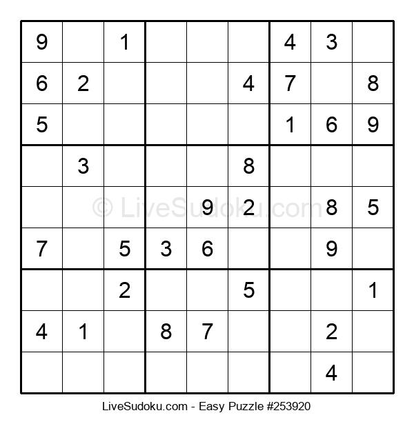 Beginners Puzzle #253920