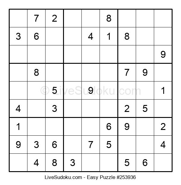 Beginners Puzzle #253936