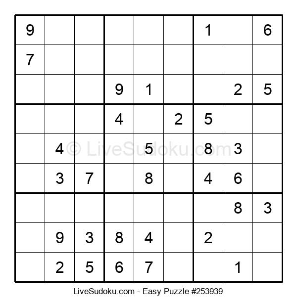 Beginners Puzzle #253939
