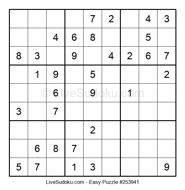 Beginners Puzzle #253941