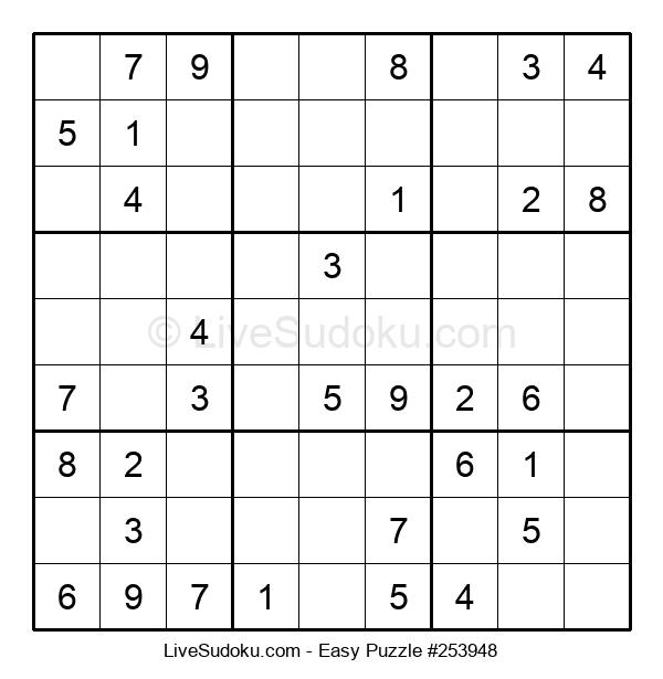 Beginners Puzzle #253948