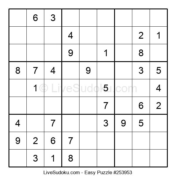 Beginners Puzzle #253953