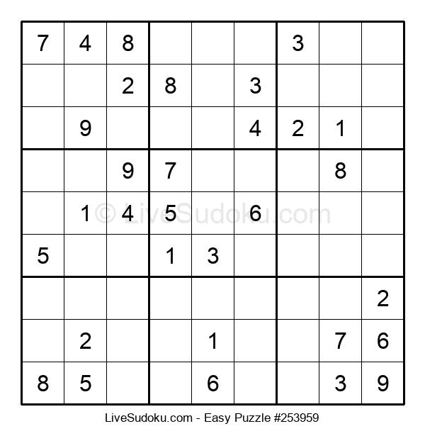 Beginners Puzzle #253959