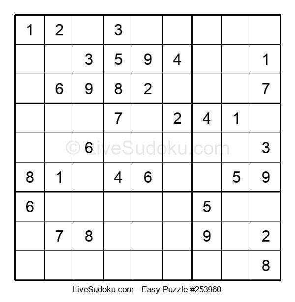 Beginners Puzzle #253960