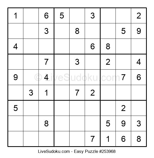 Beginners Puzzle #253968