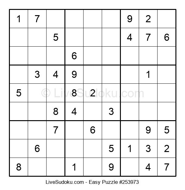 Beginners Puzzle #253973