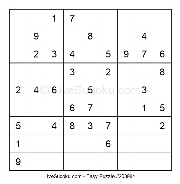 Beginners Puzzle #253984
