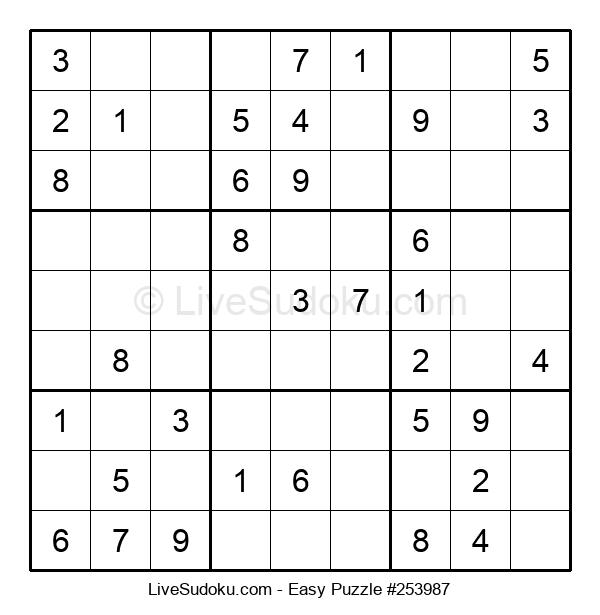 Beginners Puzzle #253987
