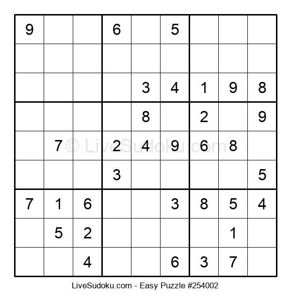 Beginners Puzzle #254002