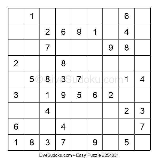 Beginners Puzzle #254031