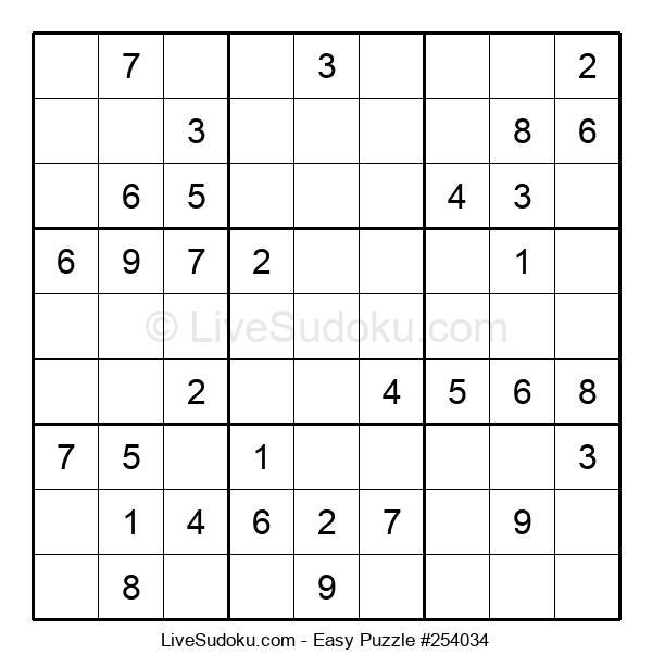 Beginners Puzzle #254034
