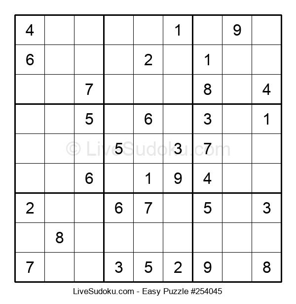 Beginners Puzzle #254045