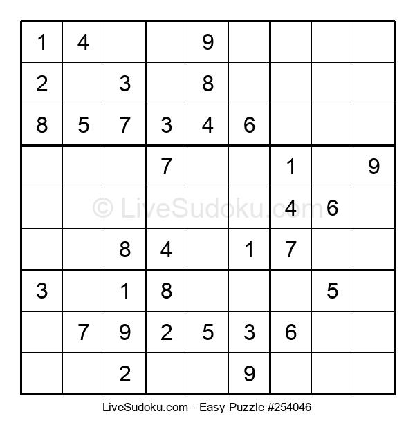 Beginners Puzzle #254046