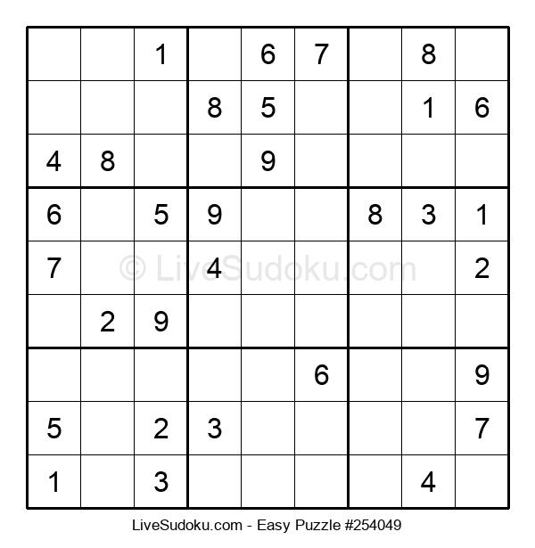 Beginners Puzzle #254049