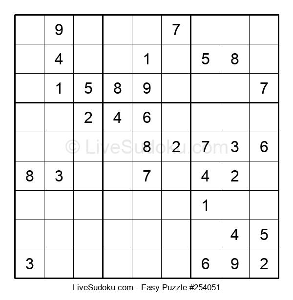 Beginners Puzzle #254051